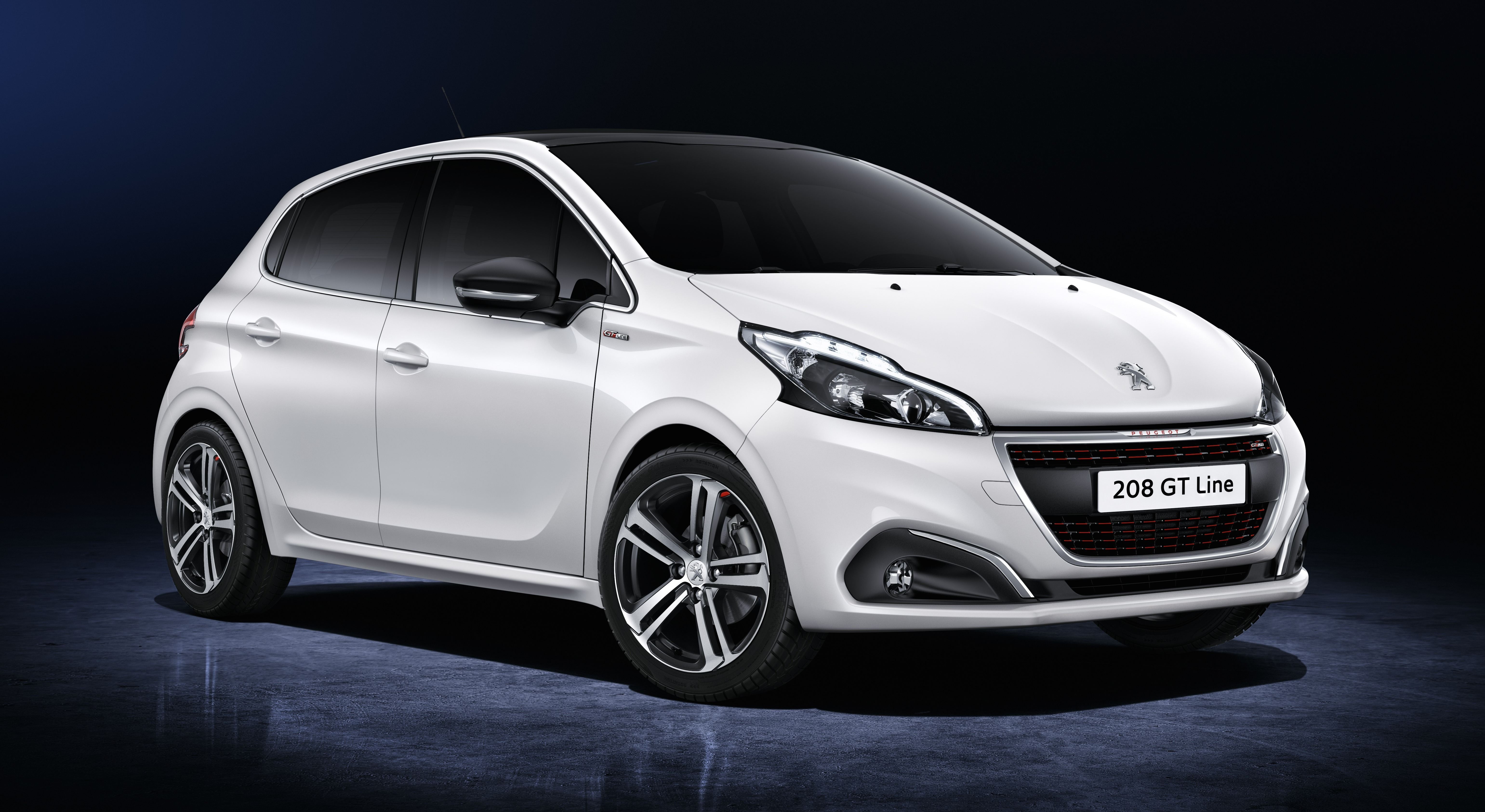 peugeot 208 facelift unveiled now with 6 speed auto. Black Bedroom Furniture Sets. Home Design Ideas
