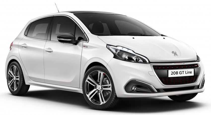Peugeot 208 facelift unveiled – now with 6-speed auto Image #312867