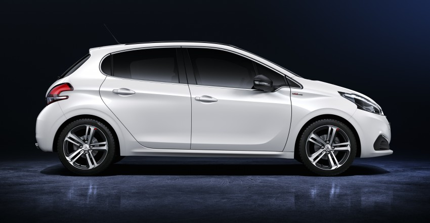 Peugeot 208 facelift unveiled – now with 6-speed auto Image #312868