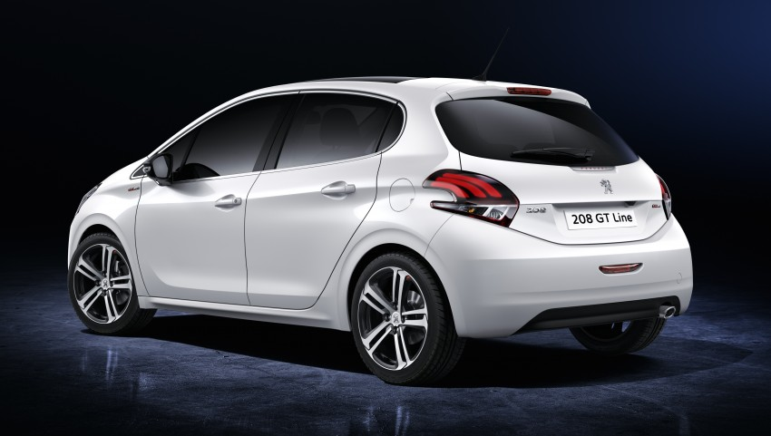 Peugeot 208 facelift unveiled – now with 6-speed auto Image #312870