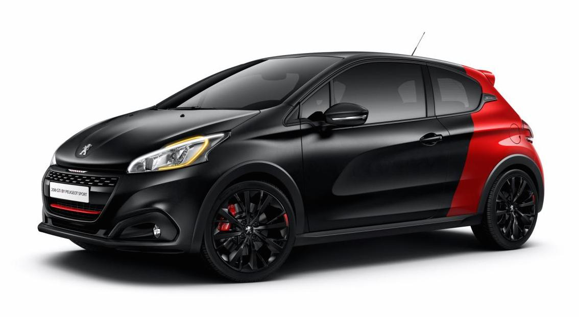 peugeot 208 gti facelift gets a power hike to 208 hp. Black Bedroom Furniture Sets. Home Design Ideas