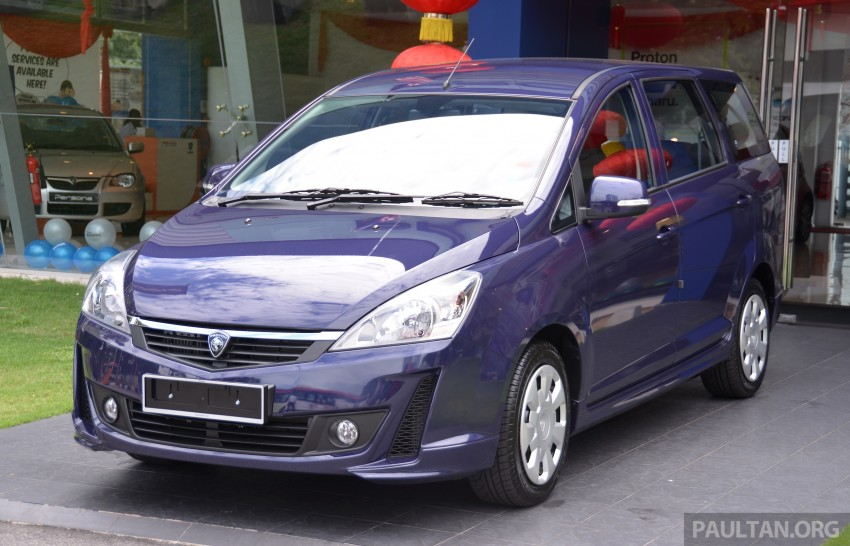 2015 Proton Exora facelift launched – RM67k-82k, new range-topping Super Premium variant introduced Image #309665
