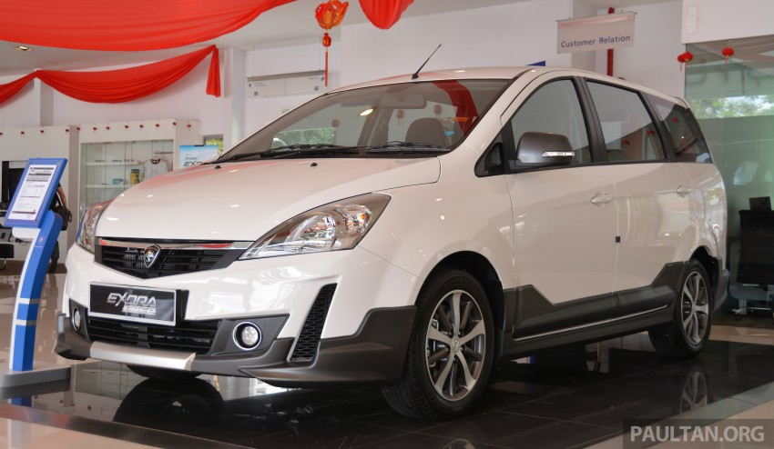 2015 Proton Exora facelift launched – RM67k-82k, new range-topping Super Premium variant introduced Image #309694