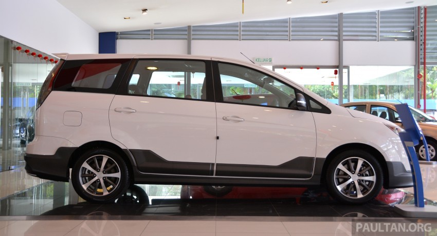 2015 Proton Exora facelift launched – RM67k-82k, new range-topping Super Premium variant introduced Image #309699
