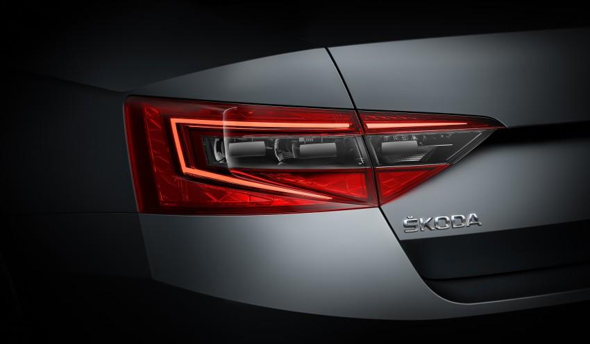 2015 Skoda Superb unveiled – bigger, better inside out Image #312581
