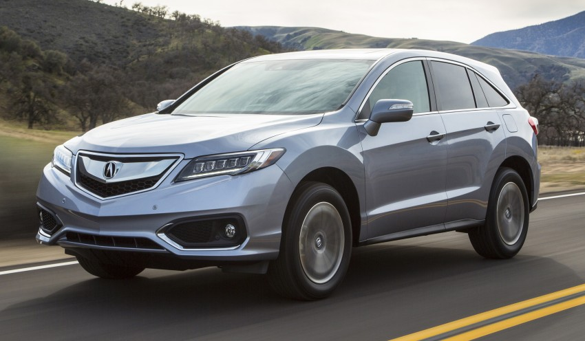 2016 Acura RDX facelift bows at the '15 Chicago show Image #311297