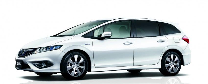 Honda Jade Hybrid six-seater goes on sale in Japan Image #311205