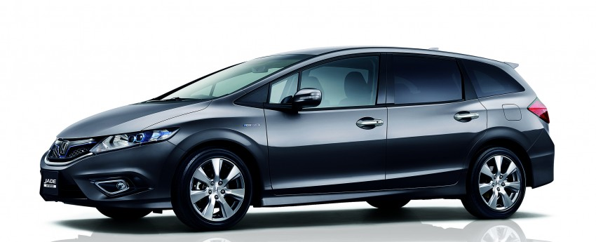 Honda Jade Hybrid six-seater goes on sale in Japan Image #311207