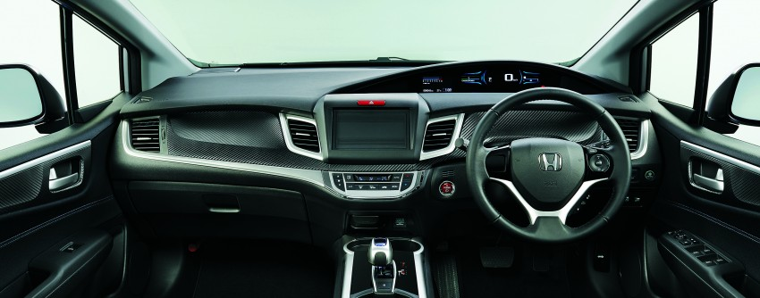 Honda Jade Hybrid six-seater goes on sale in Japan Image #311217
