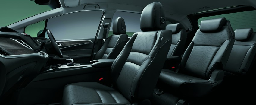 Honda Jade Hybrid six-seater goes on sale in Japan Image #311220