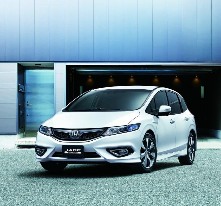 Honda Jade Hybrid six-seater goes on sale in Japan Image #311221