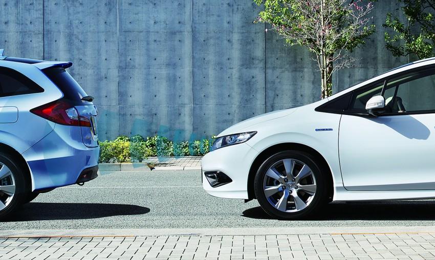 Honda Jade Hybrid six-seater goes on sale in Japan Image #311233