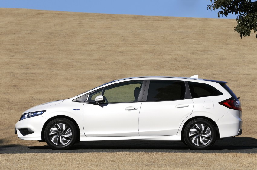 Honda Jade Hybrid six-seater goes on sale in Japan Image #311202