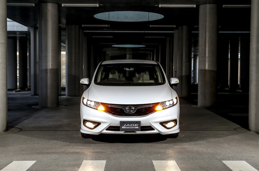 Honda Jade Hybrid six-seater goes on sale in Japan Image #311203