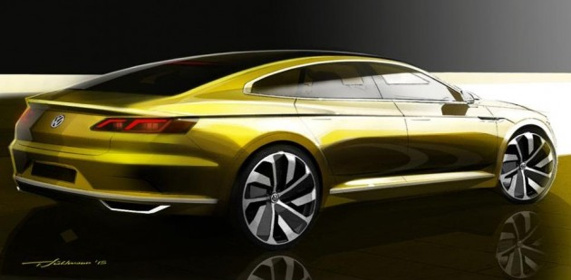 Volkswagen CC replacement teaser 2