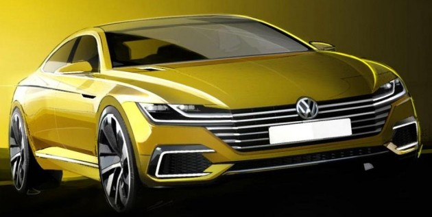 Volkswagen CC replacement teaser