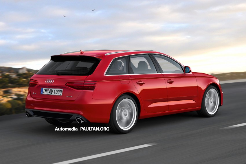 Audi A4 B9 rendered – 2015 Frankfurt debut likely Image #310918