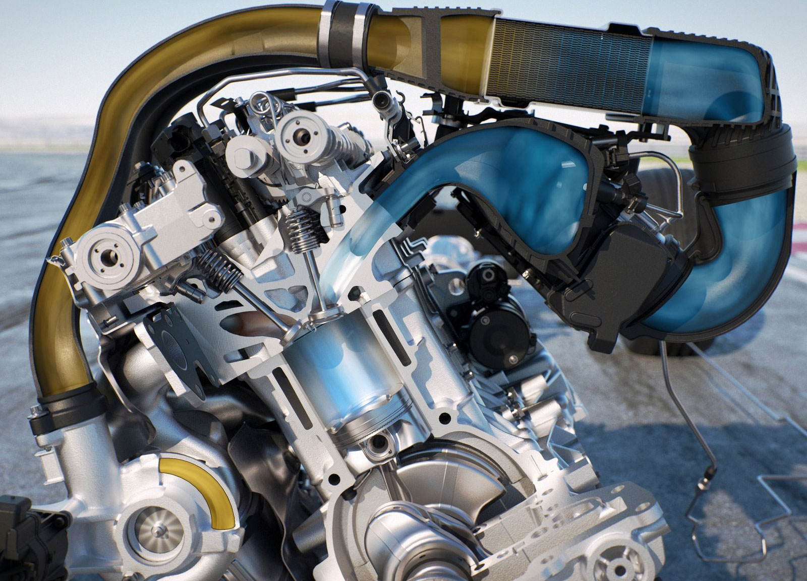 BMW M4 2015 MotoGP Safety Car Tests New Water Injection System U2013 To Debut  In An