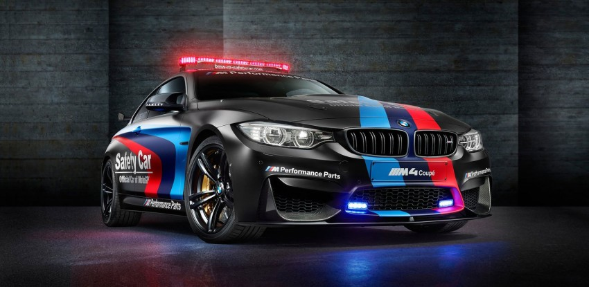 BMW M4 2015 MotoGP Safety Car tests new water injection system – to debut in an M car soon Image #311852