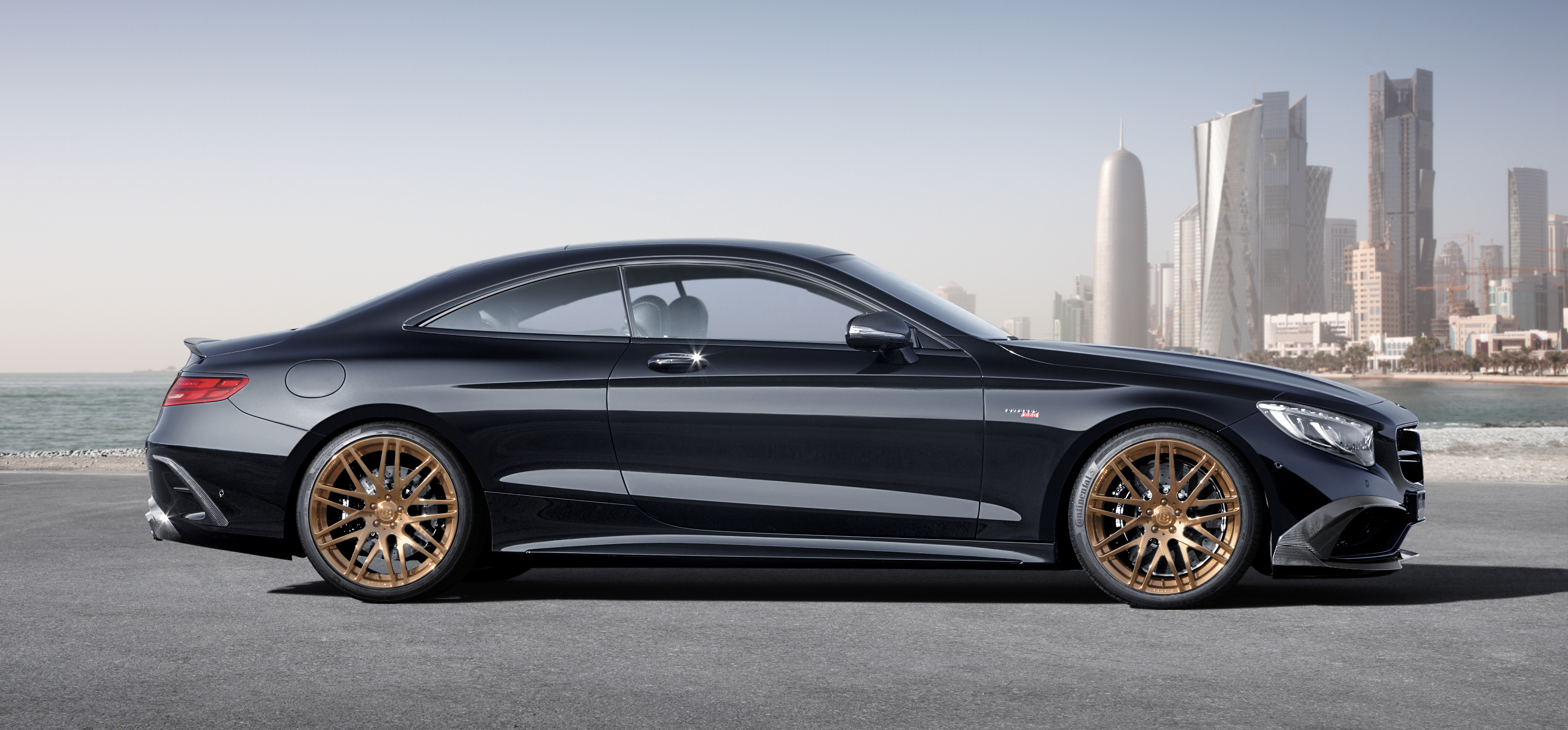 Amg >> Brabus 850 6.0 Biturbo Coupe – Mercedes S 63 AMG Coupe with 850 hp, 1,450 Nm and 350 km/h top ...