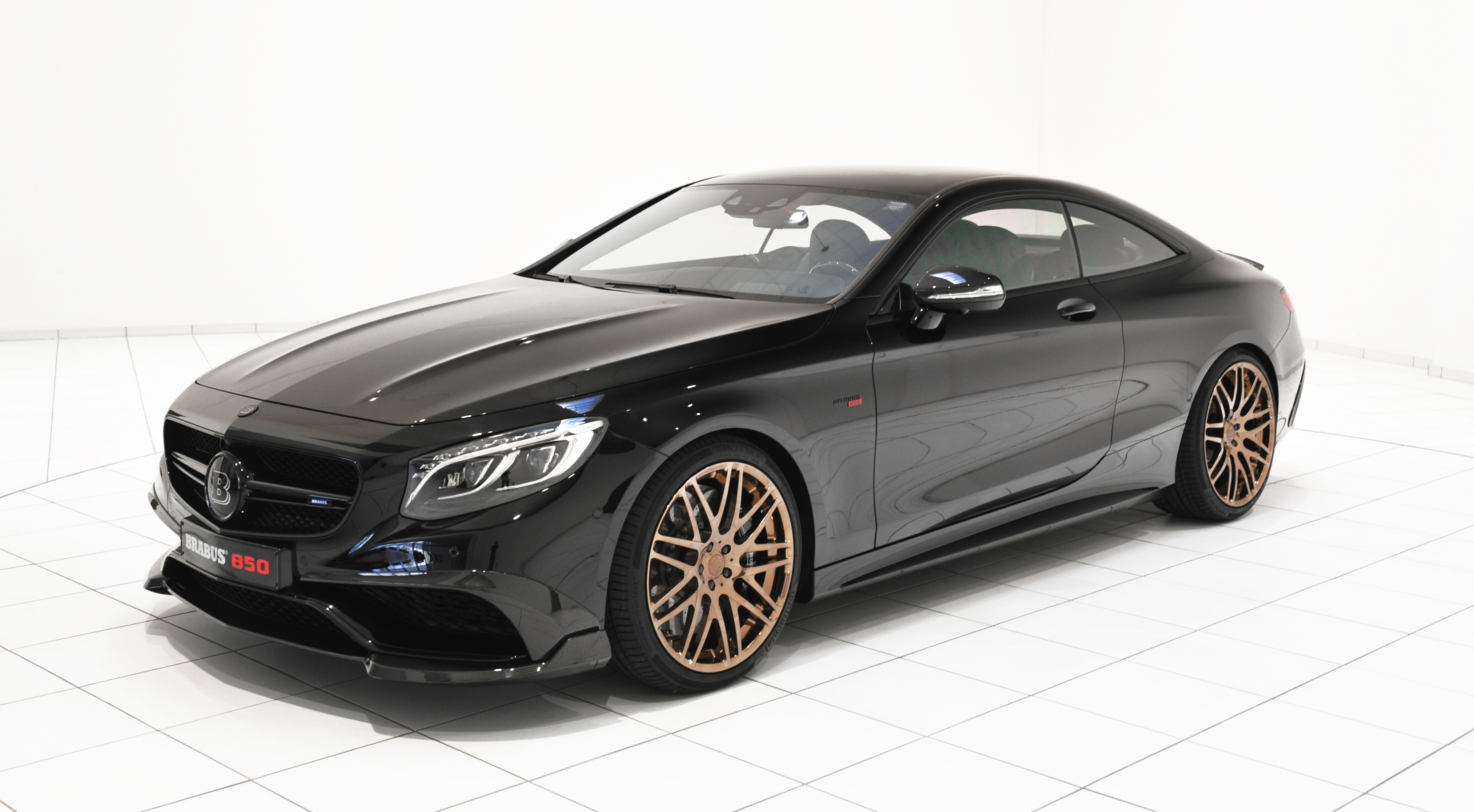 Brabus 850 6.0 Biturbo Coupe – Mercedes S 63 AMG Coupe ...