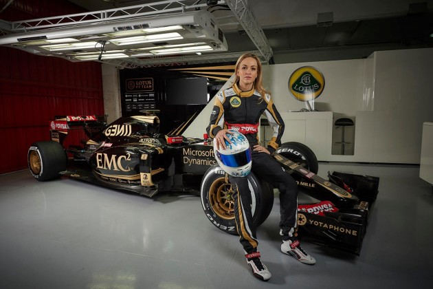 Carmen Jorda Lotus F1-10