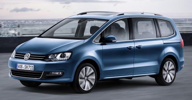Der neue Volkswagen Sharan