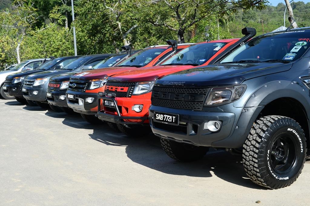 Ford Lanun Darat 2015 Adventure In Tamparuli Sabah