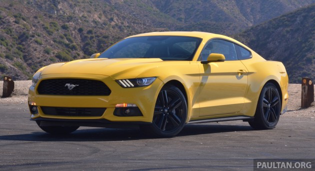 Ford Mustang LA 12