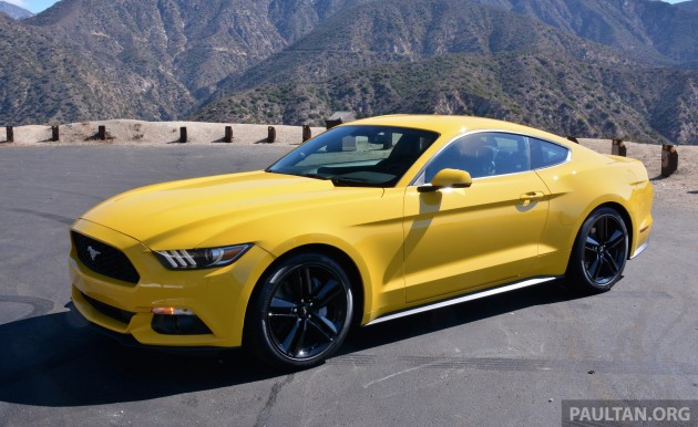 driven 2015 ford mustang 2 3 ecoboost and 5 0 gt. Black Bedroom Furniture Sets. Home Design Ideas