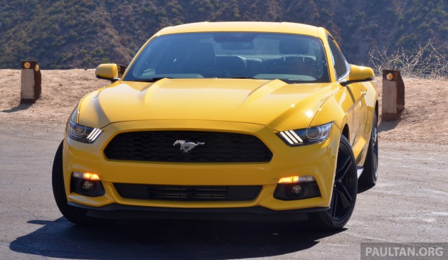 Ford Mustang LA 15
