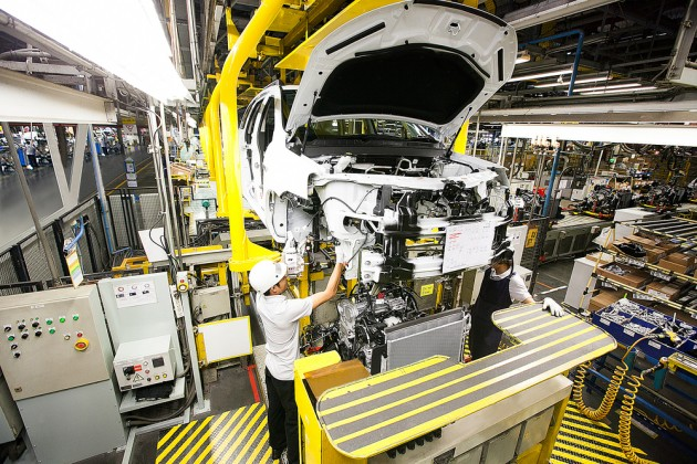 GM Thailand SUV production 1