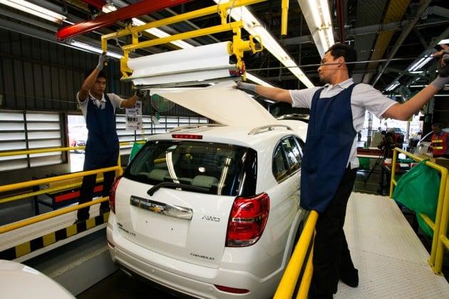GM Thailand SUV production 2