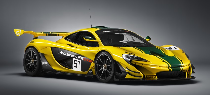 McLaren P1 GTR unveiled with 1,000 PS hybrid power Image #313517
