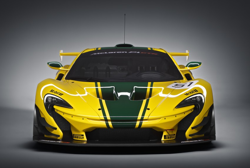 McLaren P1 GTR unveiled with 1,000 PS hybrid power Image #313518