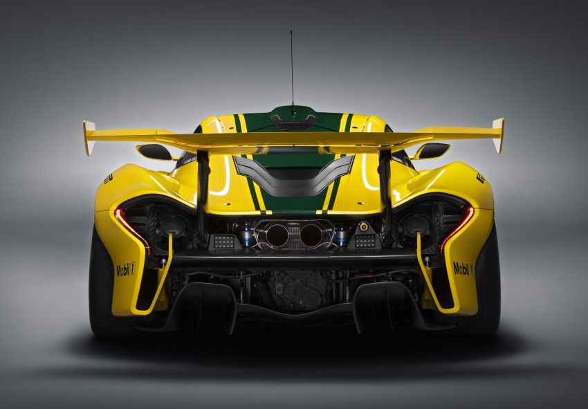 McLaren P1 GTR unveiled with 1,000 PS hybrid power Image #313520