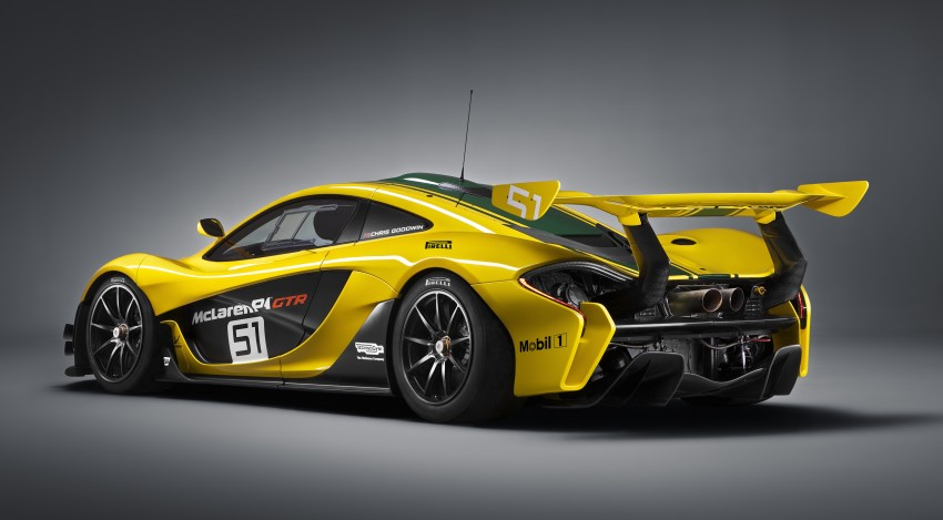 McLaren P1 GTR unveiled with 1,000 PS hybrid power Image #313521