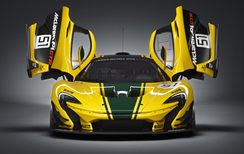 McLaren P1 GTR unveiled with 1,000 PS hybrid power Image #313522
