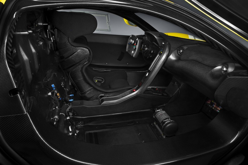 McLaren P1 GTR unveiled with 1,000 PS hybrid power Image #313523