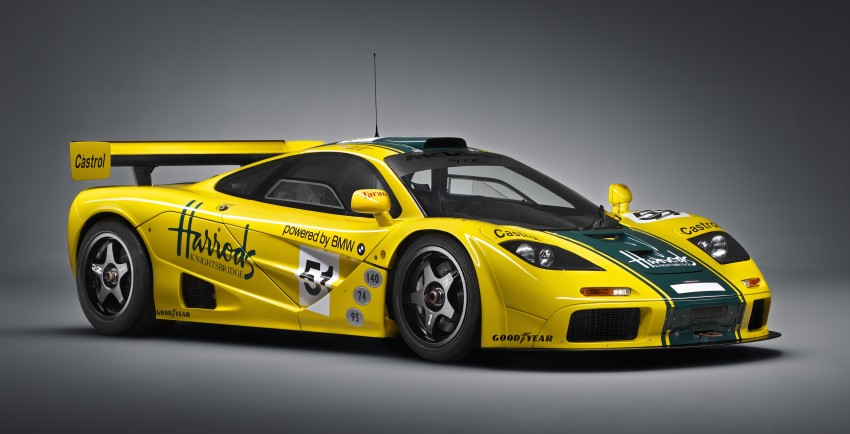 McLaren P1 GTR unveiled with 1,000 PS hybrid power Image #313525