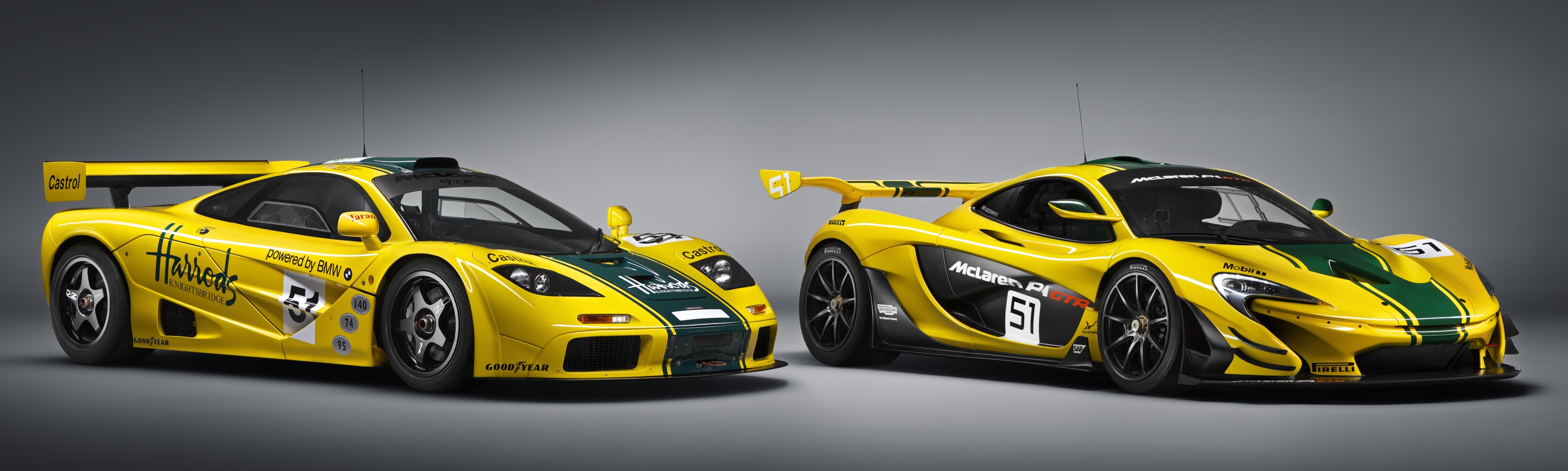 mclaren p1 gtr unveiled with 1 000 ps hybrid power image