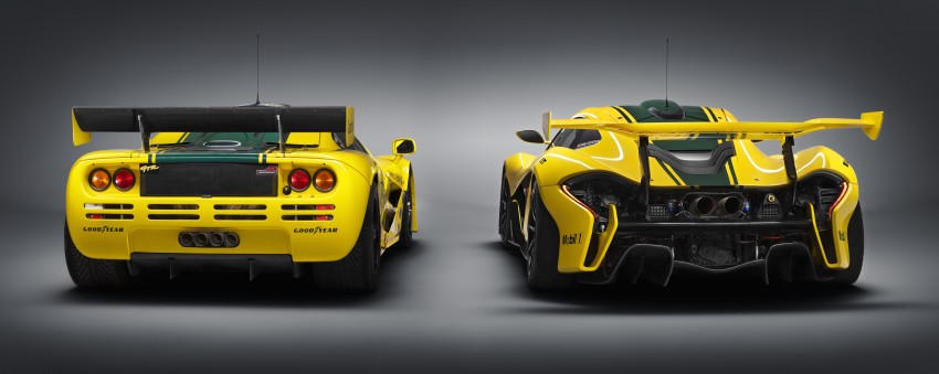 McLaren P1 GTR unveiled with 1,000 PS hybrid power Image #313529