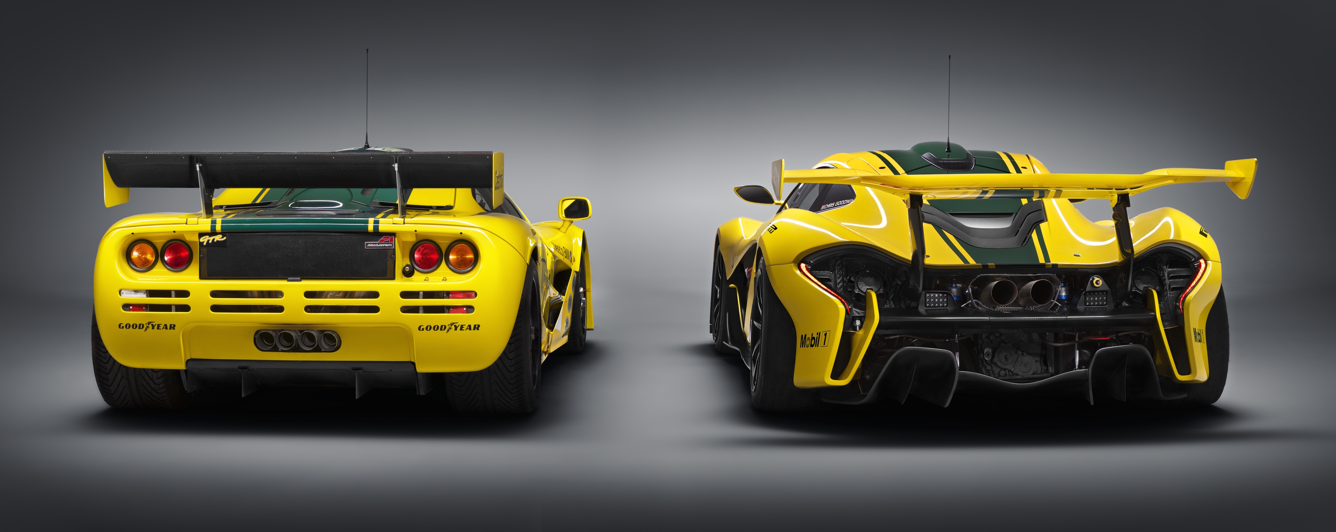 mclaren p1 gtr unveiled with 1 000 ps hybrid power image. Black Bedroom Furniture Sets. Home Design Ideas