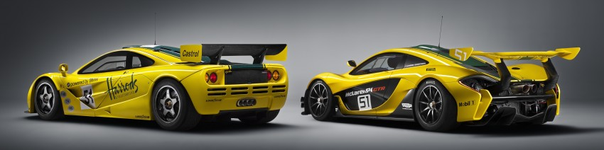 McLaren P1 GTR unveiled with 1,000 PS hybrid power Image #313530