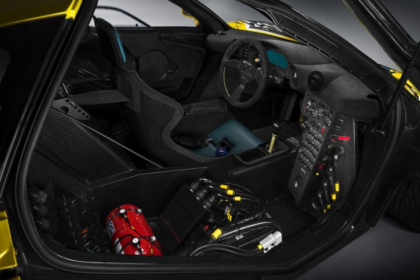 McLaren P1 GTR unveiled with 1,000 PS hybrid power Image #313532