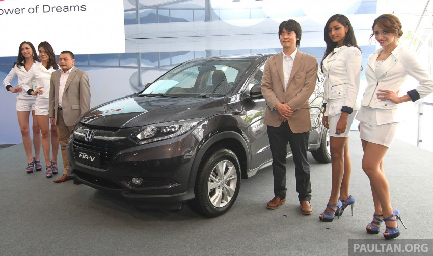 2015 Honda HR-V launched in Malaysia, from RM100k Image #309623