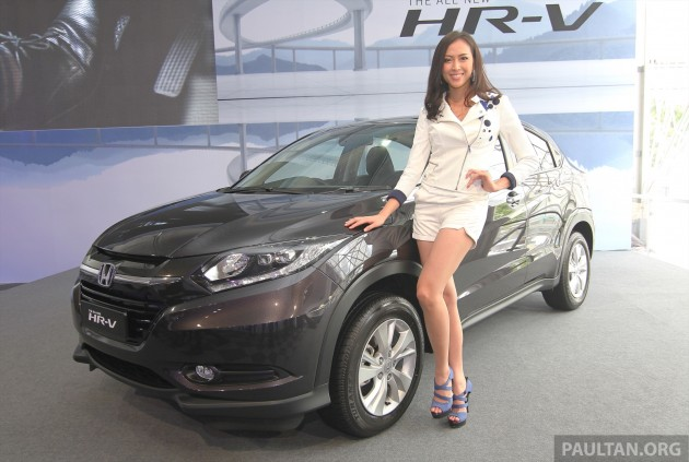 2015 Honda HR-V launched in Malaysia, fr