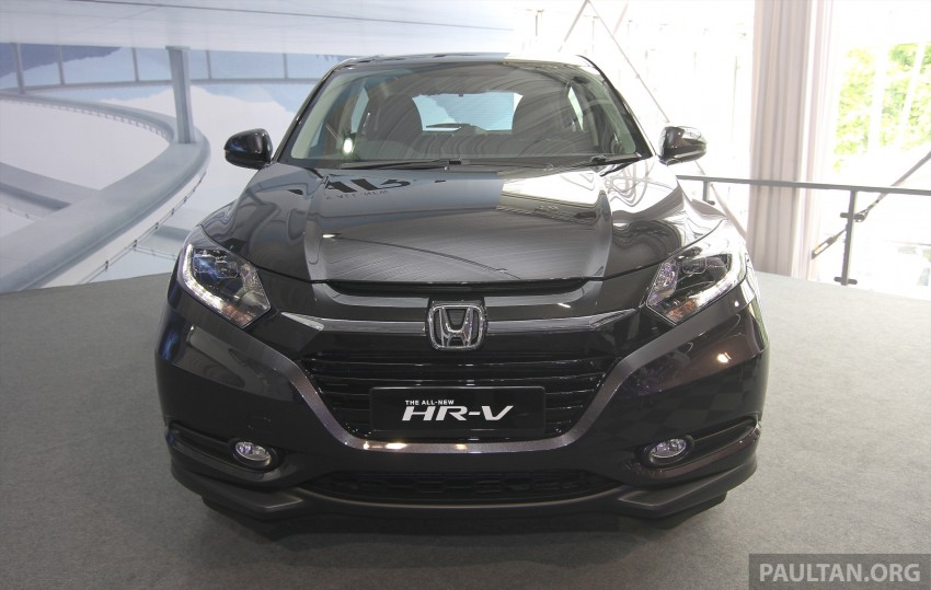 2015 Honda HR-V launched in Malaysia, from RM100k Image #309631