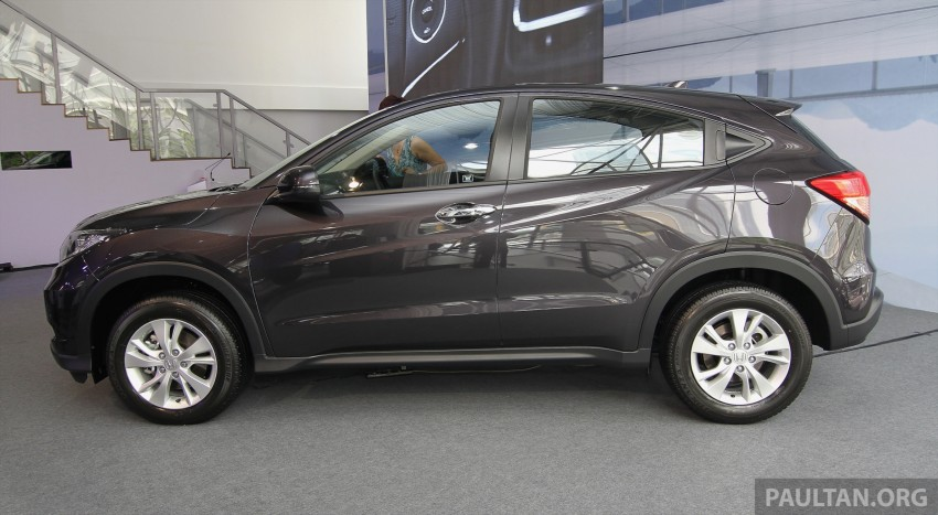 2015 Honda HR-V launched in Malaysia, from RM100k Image #309632