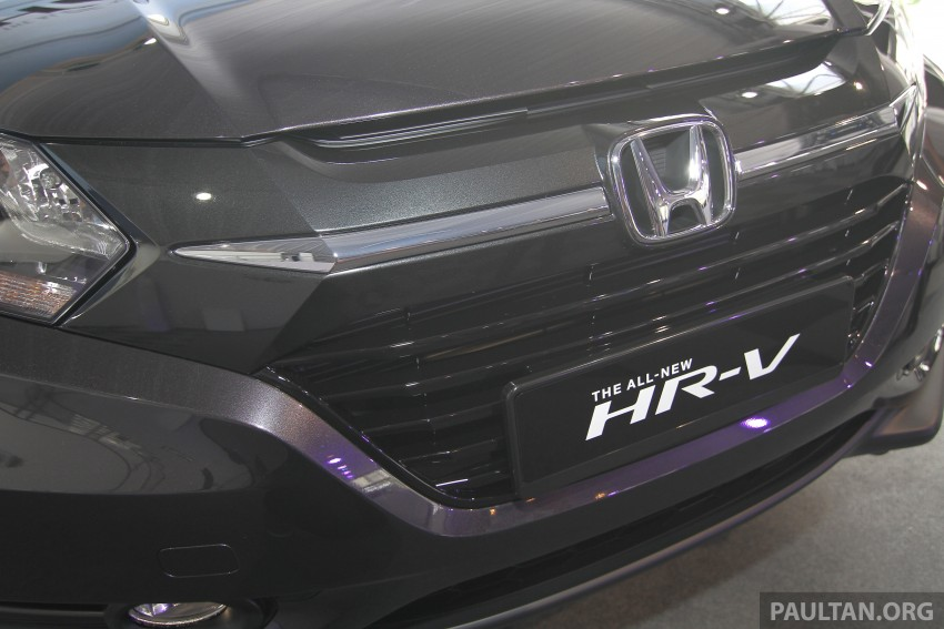 2015 Honda HR-V launched in Malaysia, from RM100k Image #309637